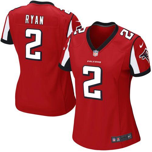 Nike Matt Ryan Atlanta Falcons Women's Game Jersey – Red