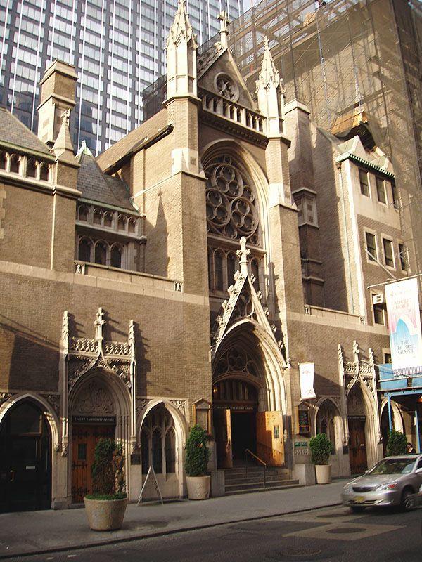 "St. Malachy's Catholic Church (""The Actors' Chapel"")"
