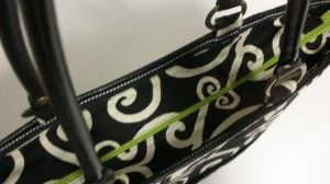 adding a zipper closure to a tote or purse.  (including onto finished bags)  Top 10 Creative handbag Ideas/Nancy Zieman/Sewing With Nancy | Nancy Zieman Blog
