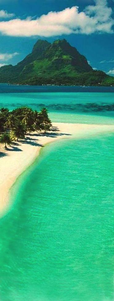 Beautiful Sea, Bora Bora, French Polynesia