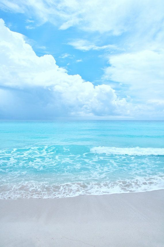 "Beach Photography - Sandy Beaches on the Gulf of Mexico - Aqua blue beach - Portrait Wall Art 8x12 Photograph - ""Break on the horizon"" Ocean, Waves, Salt, Water, Freedom. www.livewildbefree.com Cruelty Free Lifestyle & Beauty Blog. Twitter & Instagram @livewild_befree"
