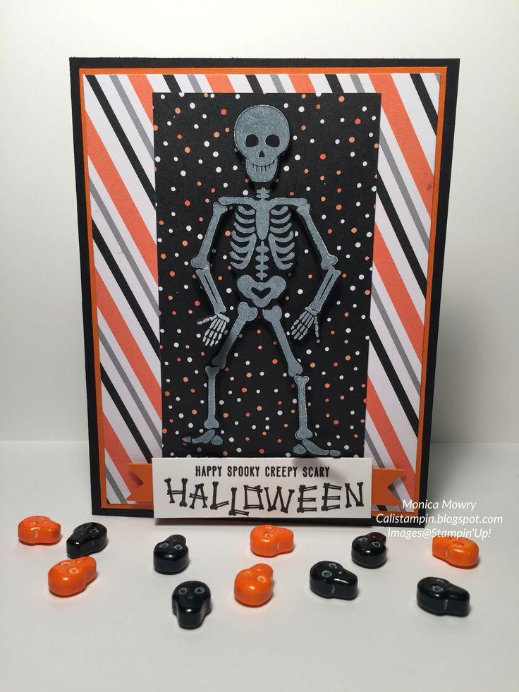 Cali Stampin:  Mr. Funny Bones on the blog today.  www.calistampin.blogspot.com