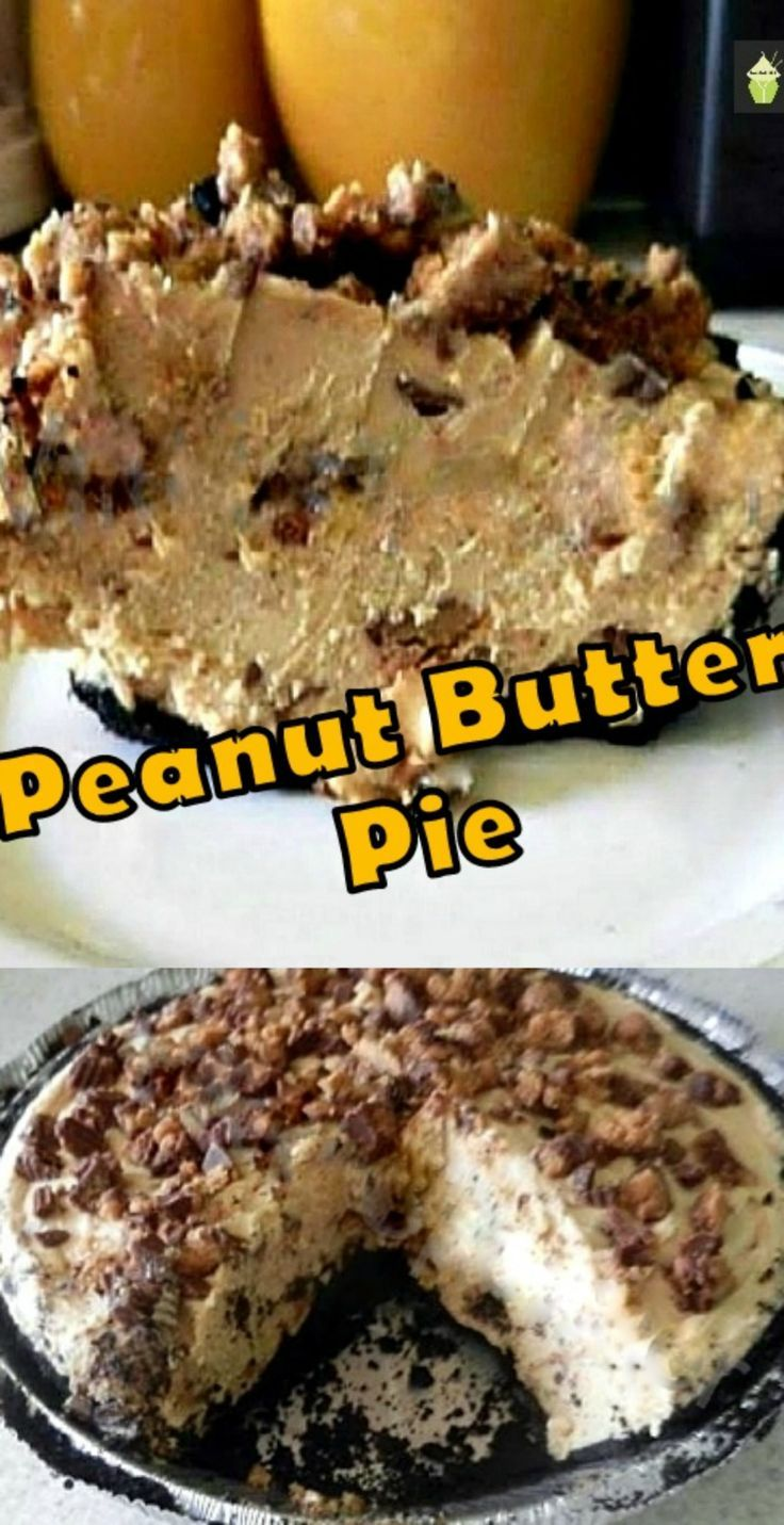 Every Peanut Butter Monster's dream! Peanut Butter Pie, A pure delight to make and oh yes... eating it will be dreamy too! #peanutbutter #pie #dessert