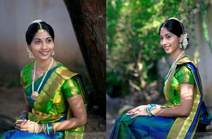 love the saree color