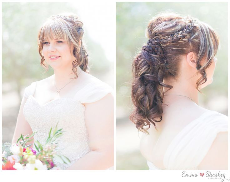 Adelaide Wedding Photographer Emma_Sharkey_Photography_0033  Beautiful wedding upstyle including braides. Just stunning wedding hair :D