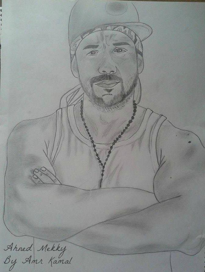 Ahmed Mekky drawing