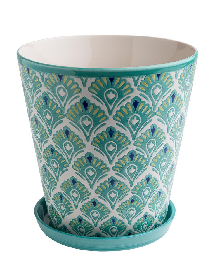VIMAL FLOWER POT kruka turkos