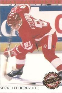 Sergei Fedorov red wings