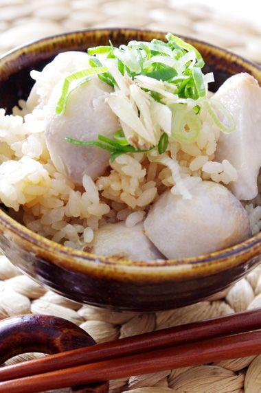 里芋と生姜の簡単炊き込みご飯☆ | 美肌レシピ