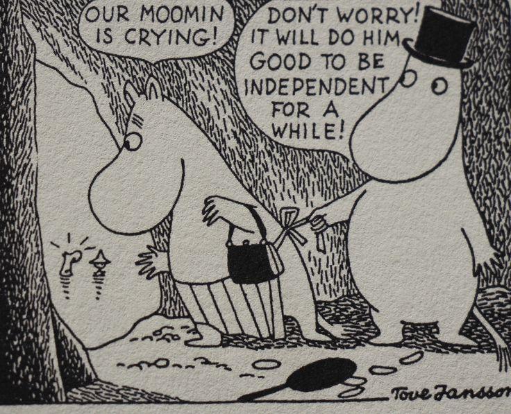 Tove Jansson's Moomin.