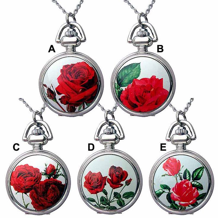 Ask Alice Pendant Fob Watch Necklace