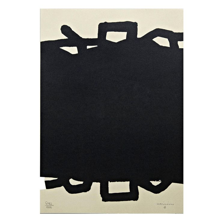 Eduardo Chillida Lithography | From a unique collection of antique and modern prints at https://www.1stdibs.com/furniture/wall-decorations/prints/