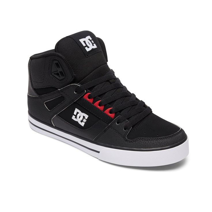 DC Astor - Zapatillas de Skateboarding Para Hombre Multicolor Negro/Blanco, Color Gris, Talla 39 EU F