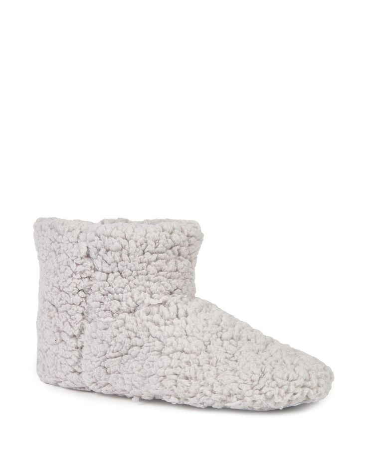 Fluffy Boot Slippers- snugly for those winter days.