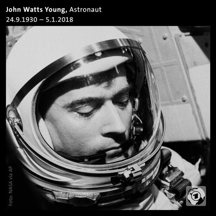 Er absolvierte als erster Mensch sechs Flüge ins All, spazierte dabei 1972 auf dem Mond und kommandierte das erste Space Shutte.  NASA-Astronaut John Watts Young starb im Alter von 87 Jahren.