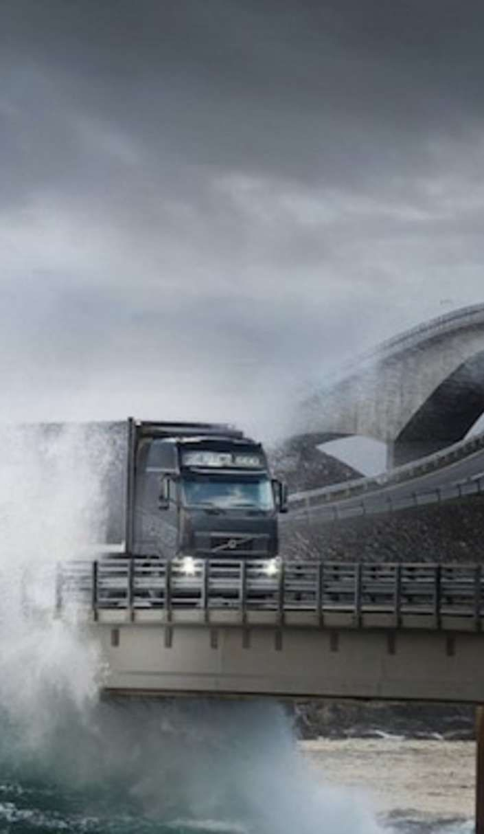 Can you handle a drive across the infamous Atlantic Ocean Road
