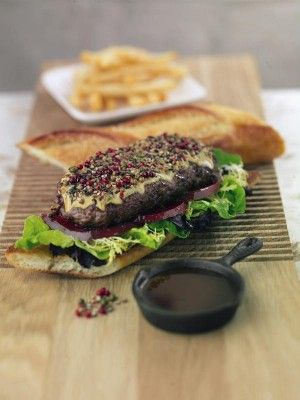 495 best thomas keller recipes images on pinterest thomas hubert keller was born in alsace france not exactly a hotbed of american style hamburgers so where exactly did he experience his first burger forumfinder Choice Image