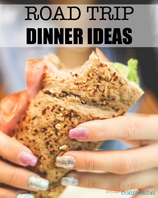 Eating out, while on the road, is always an option, but it's just not as healthy. Here are some of my favorite road trip dinner ideas!