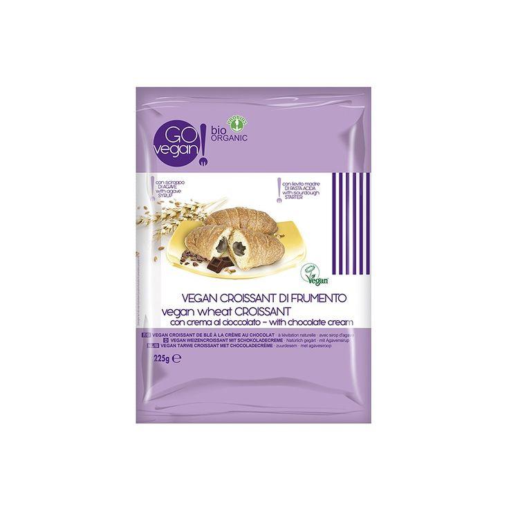 Vegan Croissant di Frumento con Crema al Cioccolato biologici Probios-Probios s.r.l.