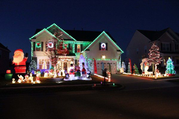 Viewers shared their Christmas light displays/decorations with NBC Charlotte this week.