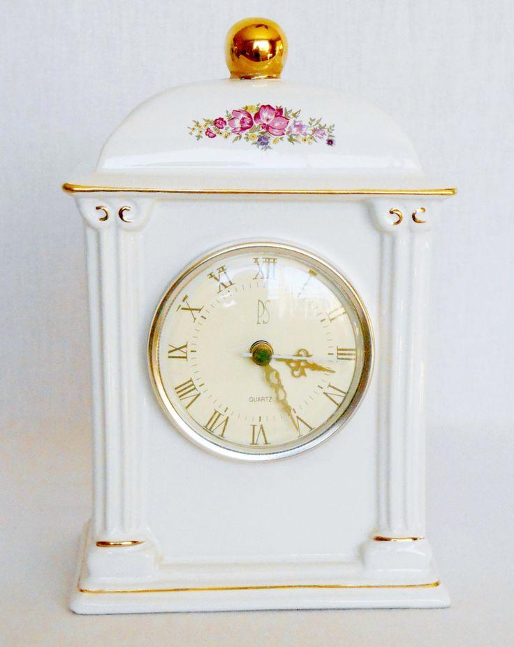 Vintage Paul Sebastian 1993 Limited Edition Porcelain Quartz Movement Mantle Clock, Paul Sebastian Mantle Clock, Vintage Paul Sebastian, by BeautyEverlasting on Etsy