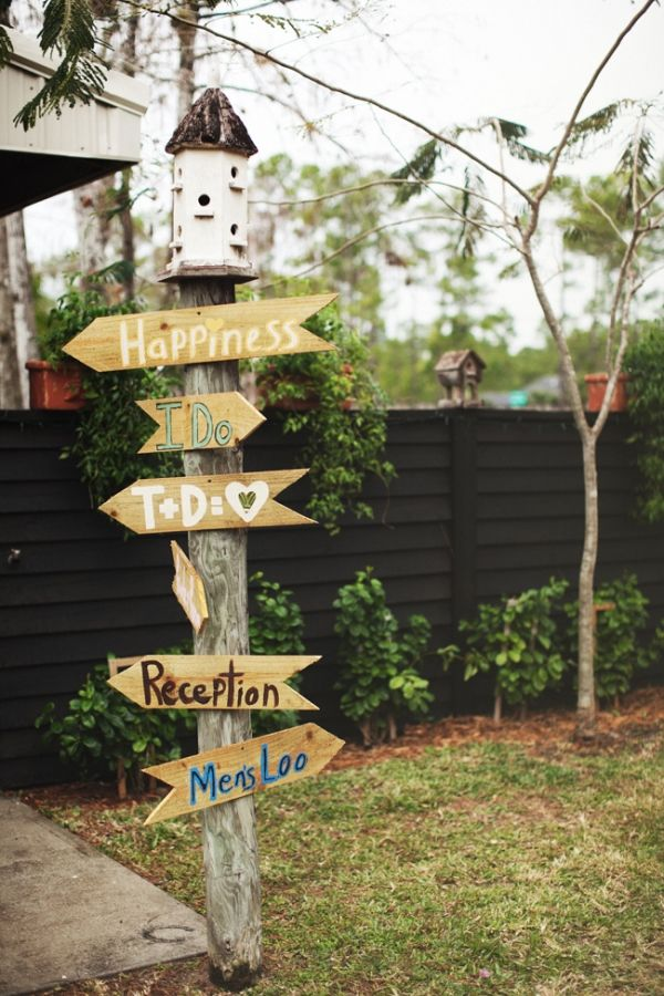 DIY Rustic Florida Wedding