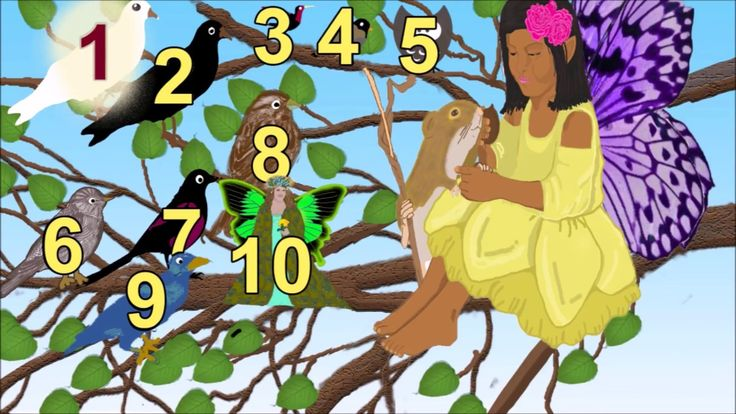 Fairies teach letters, numbers, and shapes
