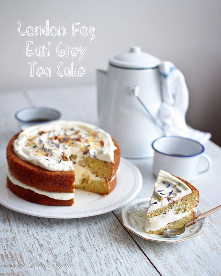 London Fog Earl Grey Tea Cake by Not Quite Nigella