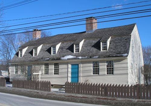 Solomon goffe house meriden connecticut 1711 new for New england homes com