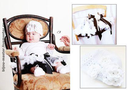Юбочка туту для малышки.. 'ПЕРЫШКО' - юбочка в стиле 'американка'     Материалы: трикотаж, сетка, хлопок, акрил, цветы из ткани,     Юбочка: по размеру подойдет маленькой принцессе до 3 лет ( до 100см). пышная, красивая и очень нарядная юбка для девочки на любой случай.