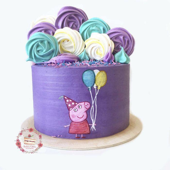 1001 Peppa Wutz Torte Ideen Fur Einen Lustigen Kindergeburtstag In 2020 Peppa Wutz Torte Peppa Schwein Kuchen Kuchen Ideen