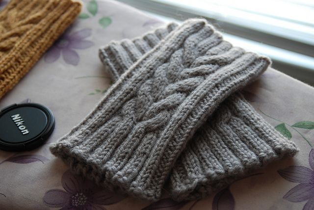 Ravelry: Ballymeade Boot Toppers pattern by Robin Ulrich