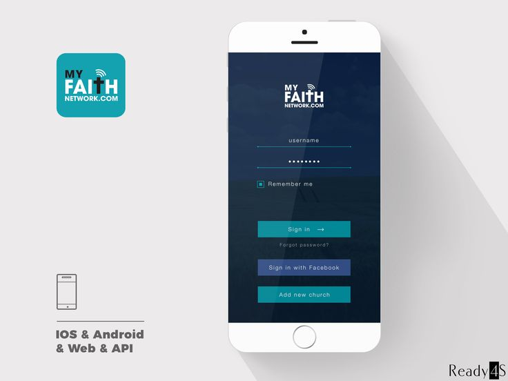 MyFaith Network is a social app connecting people in local church communities in the USA. It includes a search engine with many categories as well as an advanced chat system.
