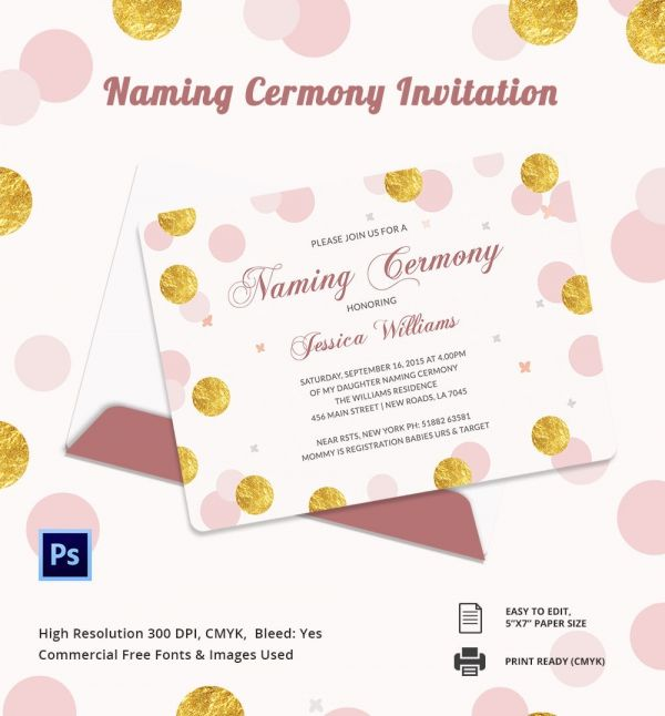 Image Result For Baby Naming Ceremony Invitations  Invitations