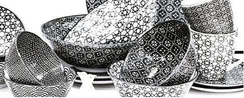 zwart /wit servies - Google zoeken