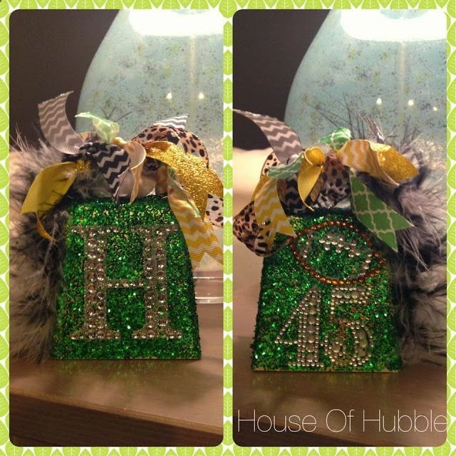blinged out cow bells for game night #cheerleading #cheercrafts