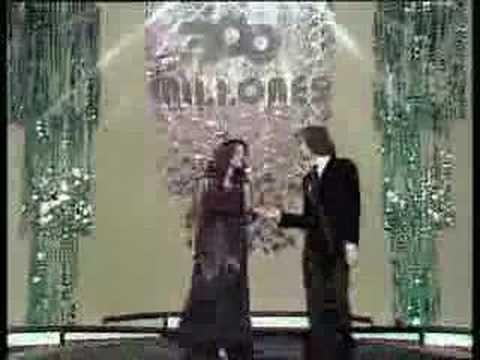 Camilo Sesto y Angela Carrasco - Callados Video - YouTube