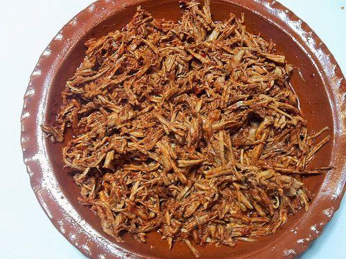 Shredded Pork Tamale Filling