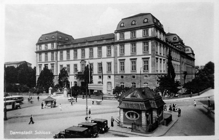 Darmstadt Schloß um 1935