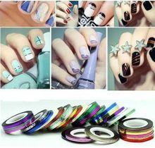 Check out the site: www.nadmart.com   http://www.nadmart.com/products/1pc-nail-art-kit-supplies-wholesale-gold-silver-painted-wire-cable-jewelry-color-solid-color-nail-polish-stickers/   Price: $US $0.18 & FREE Shipping Worldwide!   #onlineshopping #nadmartonline #shopnow #shoponline #buynow