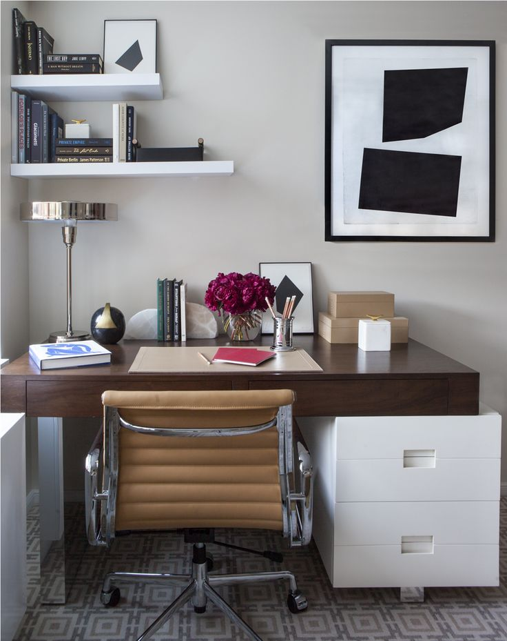 Office / Study / Workspace by Alyssa Kapito Interiors