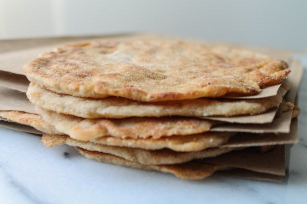 Make your own flatbread - with spelt flour & Greek-style yogurt