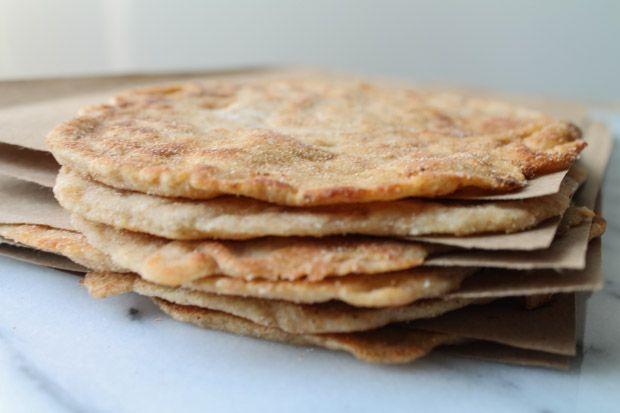 Make your own flatbread - with spelt flour & Greek-style yogurt