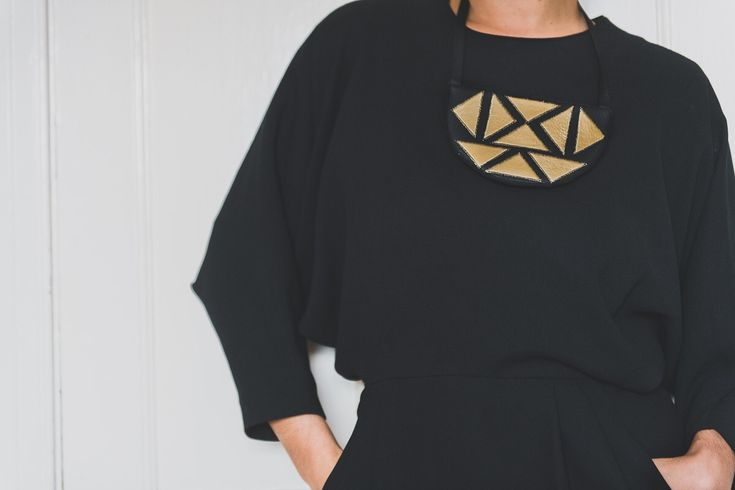 Brighten your work outfit with funky statement necklace  #statement#necklace#workoutfit €55