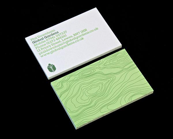 Garden Design Business Cards 97 best business cards design images on pinterest | business card