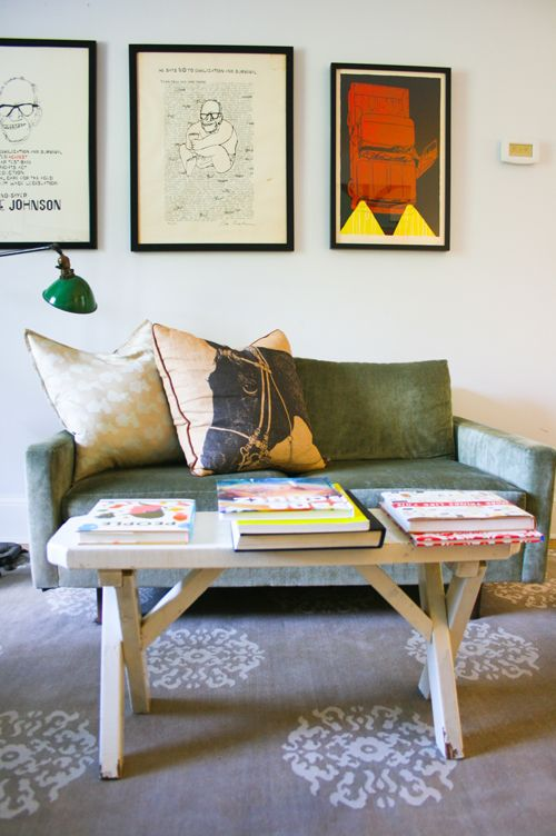 Whole house is a great mix of mod, vintage, and kid-friendly style
