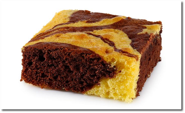 Marmor Kuchen vom Blech