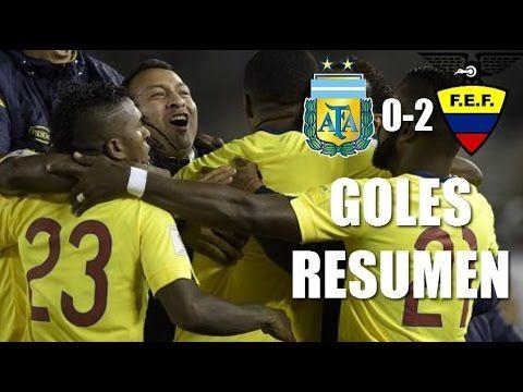 Argentina vs Ecuador 0-2 GOLES RESUMEN Eliminatorias 2015 HD
