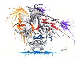 Teenage Mutant Ninja Turtle by QuynzeL