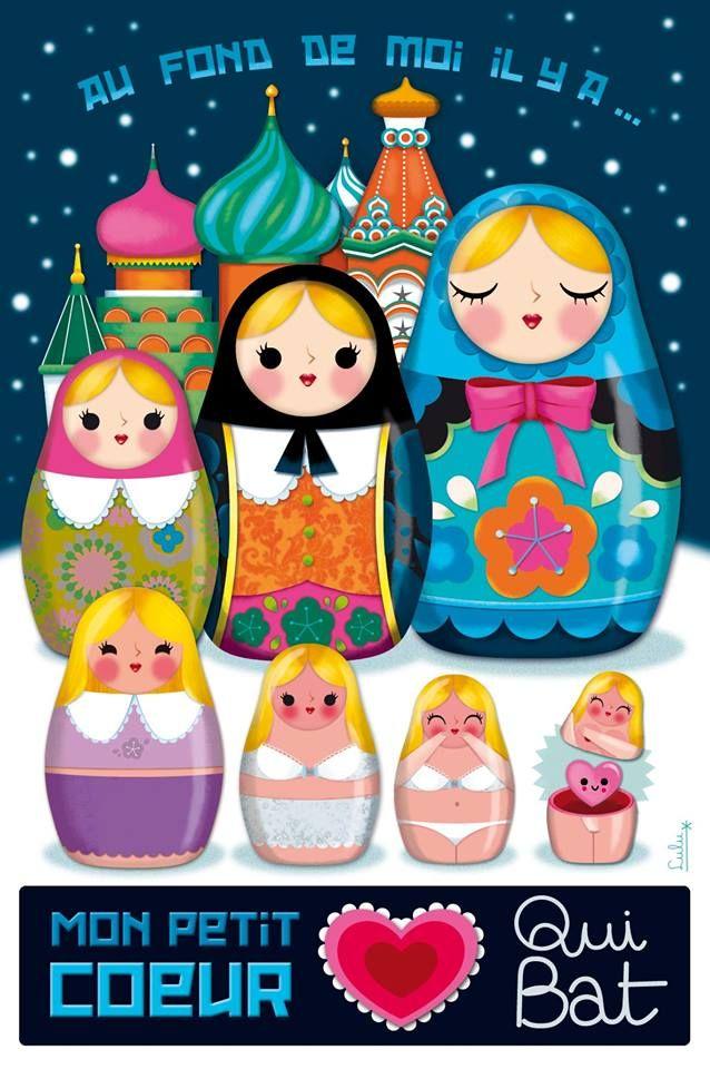 The littlest Russian doll / Lucie brunellière